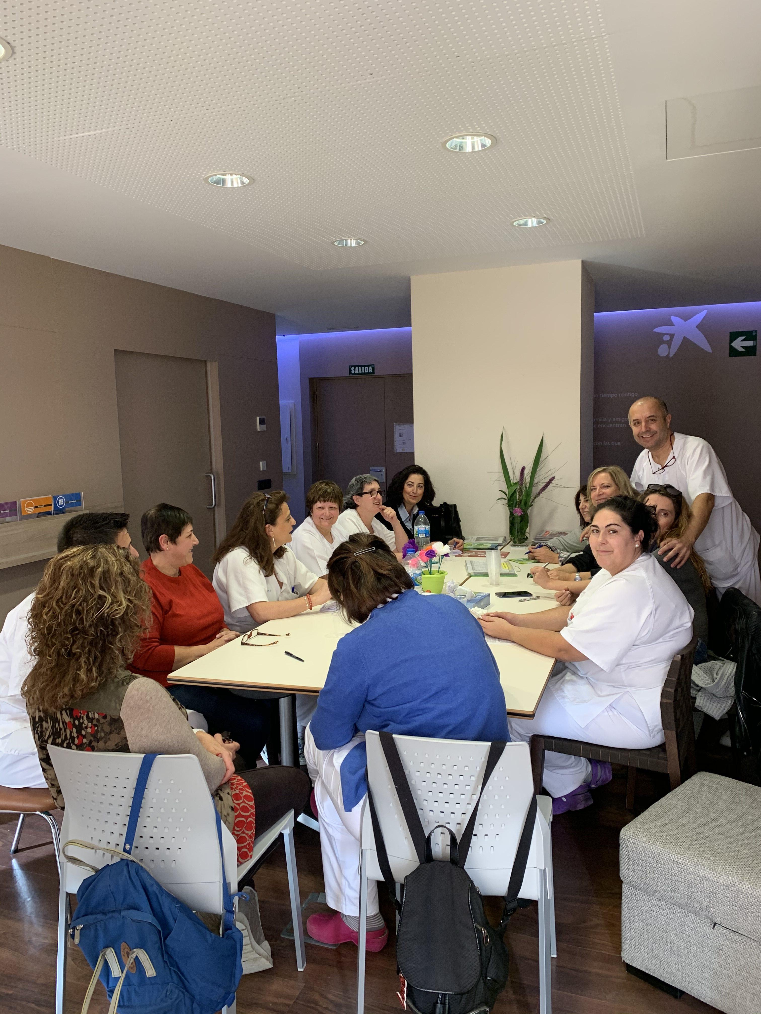 Reunión Enfermería- TCAES